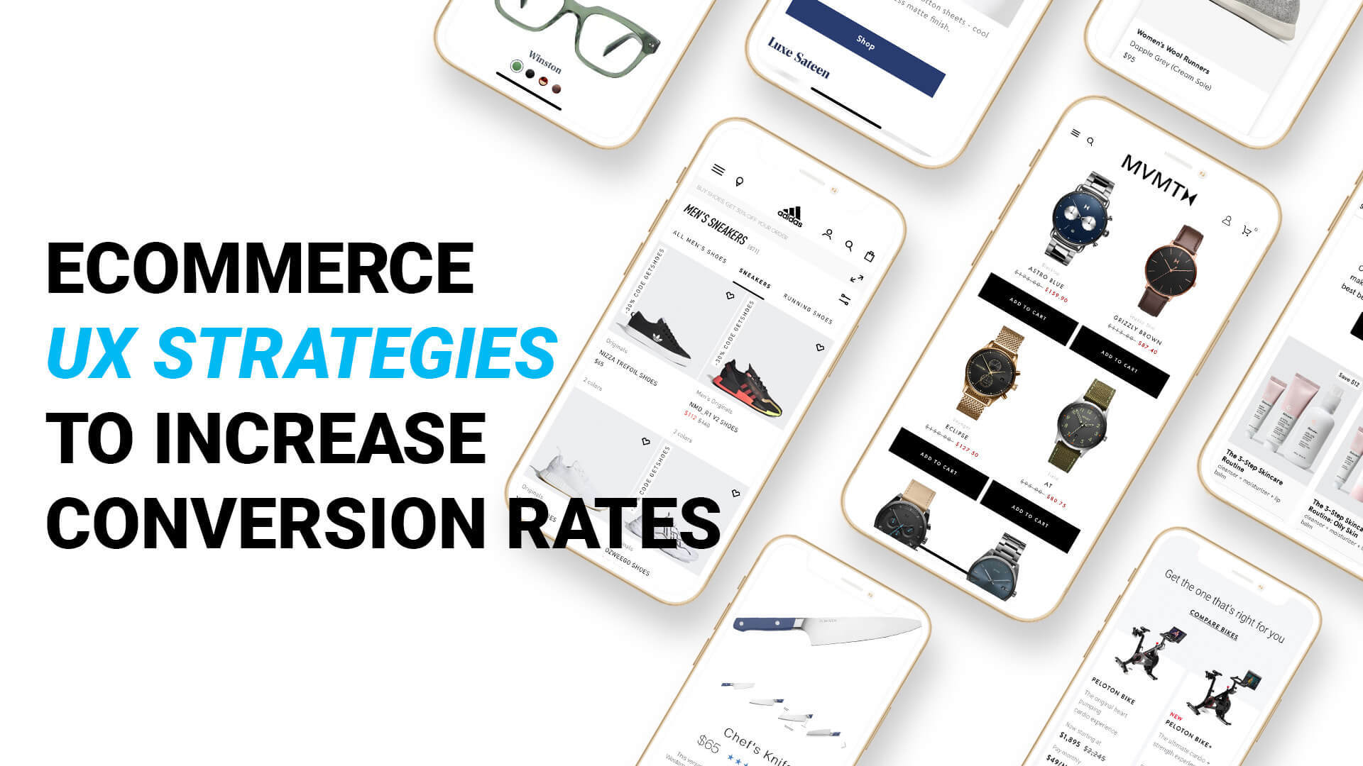 Ecommerce UX strategies to increase conversion rates