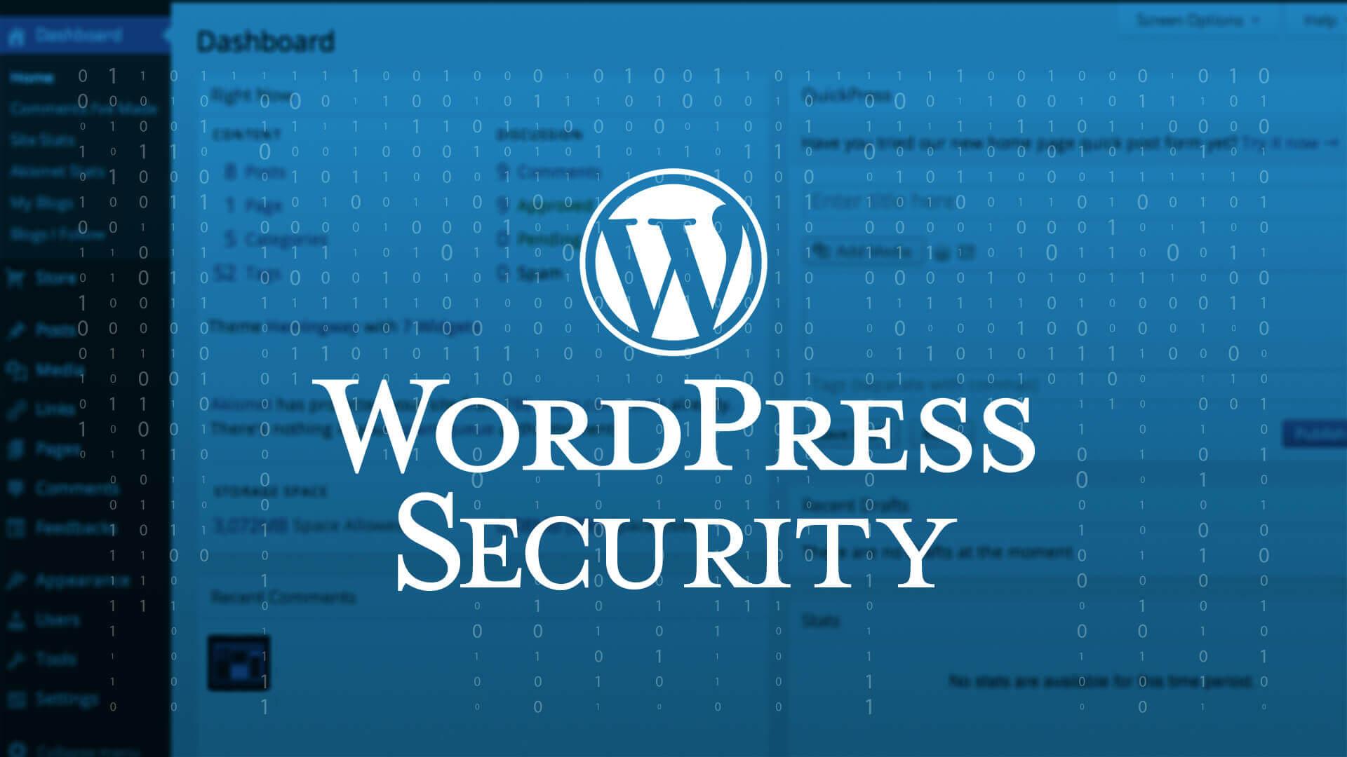 Wordpress Security 2019