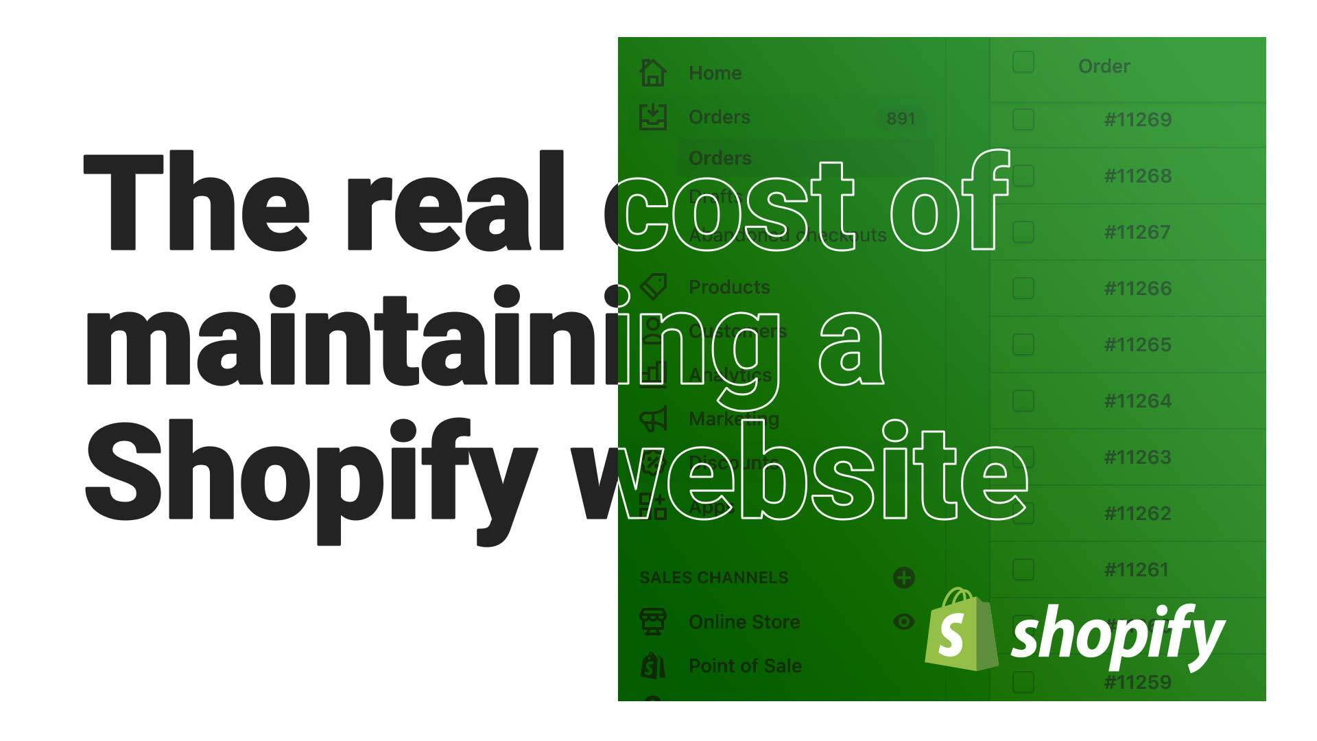 How Much Is Shopify: The real cost of maintaining an ecommerce website