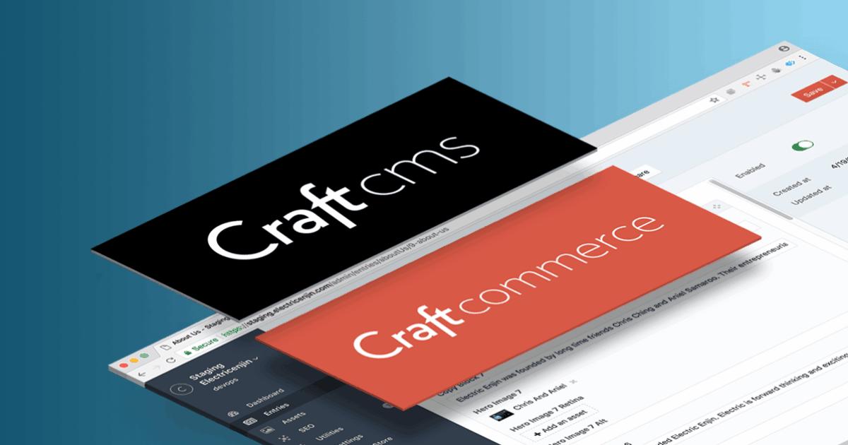 Craft Cms Ecommerce Craft Commerce Craft Cms Hosting